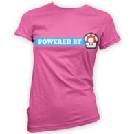 Powered By Mushroom Woman's T-Shirt