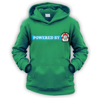Powered By Mushroom Kids Hoodie
