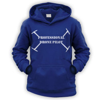Professional Drone Pilot Kids Hoodie