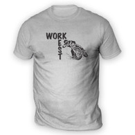 Work Rest MotoCross Mens T-Shirt