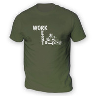 Work Rest Go Kart Mens T-Shirt
