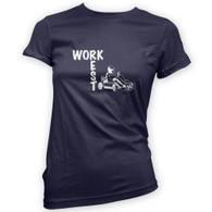 Work Rest Go Kart Woman's T-Shirt