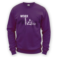Work Rest Go Kart Sweater