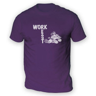 Work Rest Quad Bike Mens T-Shirt