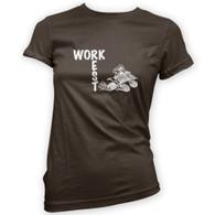 Work Rest Quad Bike Woman's T-Shirt
