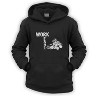 Work Rest Quad Bike Kids Hoodie