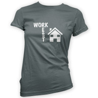 Work Rest House Music Woman's T-Shirt