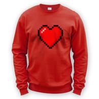 16 Bit Heart Sweater