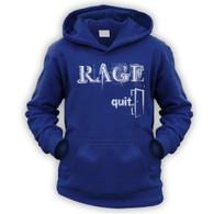 Rage Quit Kids Hoodie