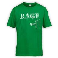 Rage Quit Kids T-Shirt