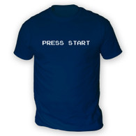 Press Start Mens T-Shirt