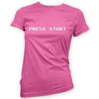 Press Start Womans T-Shirt