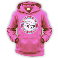 Grow Up Optional Skyline Kids Hoodie