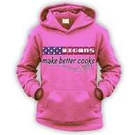 Americans Make Better Cooks Kids Hoodie
