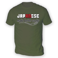 Japanese Make Better Cooks Mens T-Shirt