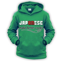 Japanese Make Better Cooks Kids Hoodie