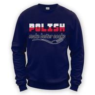 Polish Make Better Cooks Sweater
