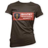 Skynet Resistance Member Womans T-Shirt