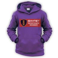 Skynet Resistance Member Kids Hoodie