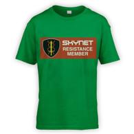 Skynet Resistance Member Kids T-Shirt