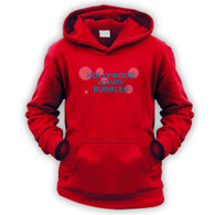 Hollywood Luxury Bubbles Kids Hoodie