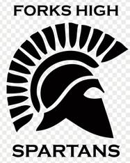Forks High Spartans Sticker