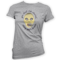 Shiny and Chrome Womans T-Shirt