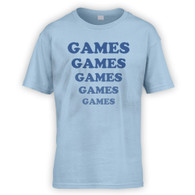 Games Games Games Kids T-Shirt