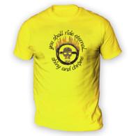 Citadel Skull Logo Mens T-Shirt