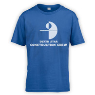 Death Star Construction Crew Kids T-Shirt