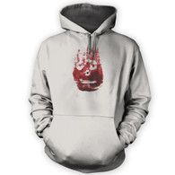 Volleyball Hand Print Hoodie