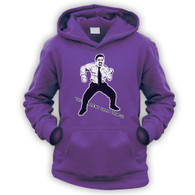 The Brent Crab Dance Kids Hoodie