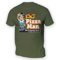 Pizza Man Mens T-Shirt