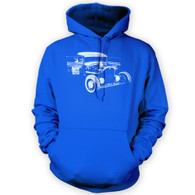 Ratlook Hot Rod Pickup Hoodie