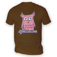 Olivia Owl Mens T-Shirt