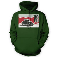V8 Coupe Hot Rod Hoodie