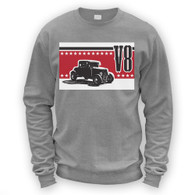 V8 Coupe Hot Rod Sweater