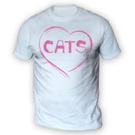 Love Cats Mens T-Shirt
