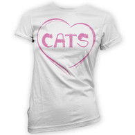 Love Cats Womans T-Shirt
