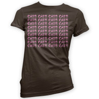 Cats Cats Cats Womans T-Shirt