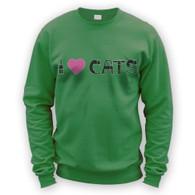 I Love Cats II Sweater