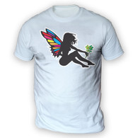 Girl Fairy Mens T-Shirt