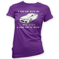 Bad Day With My Skyline Beats Work Womans T-Shirt