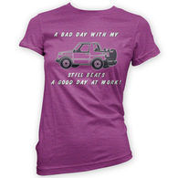 Bad Day With My Vitara Beats Work Womans T-Shirt
