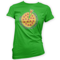 Pizza Percentage Womans T-Shirt