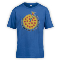 Pizza Percentage Kids T-Shirt