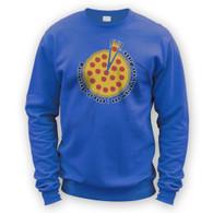 Pizza Percentage Sweater