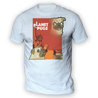 Planet of the Pugs Mens T-Shirt