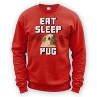 Eat Sleep Pug Sweater