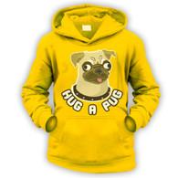 Hug a Pug Kids Hoodie